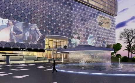 珠海扬名广场商场外观